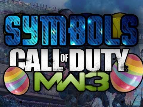Modern Warfare 3 - Easter Egg / Glitch Tutorial - How To Add Symbols To Clan Tag