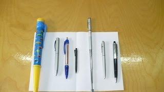 Шариковые ручки*с приколом*(ВИДЕО о том как можно ПОДШУТИТЬ над своими друзьями.видеообзор моей небольшой колекции самых обычных шари..., 2015-01-27T14:25:53.000Z)