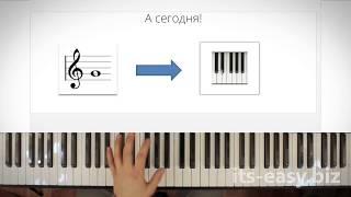 3/5 Самый быстрый способ научиться читать ноты за одно занятие, для фортепиано бесплатно