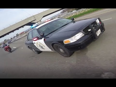 BIKERS VS COPS - Motorcycle Police Chase Compilation #16 - FNF