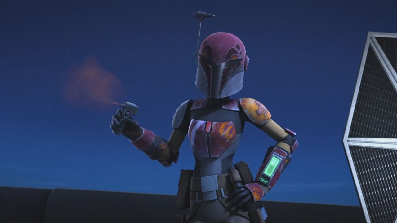 Star Wars Rebels Sabine Wren Vs Stormtroopers 1080p
