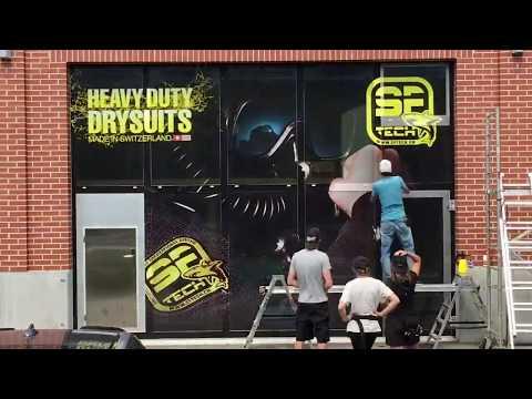 Devanture SFTech - Publicity Shop