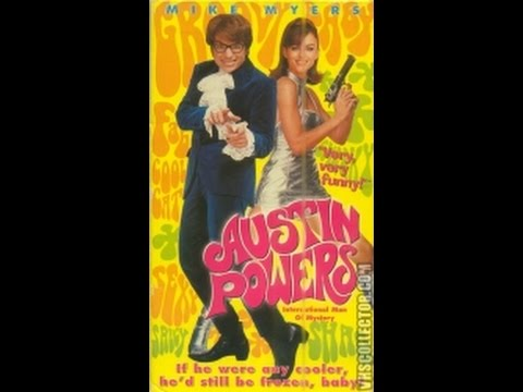 Opening To Austin Powers:International Man Of Mystery 1997 VHS