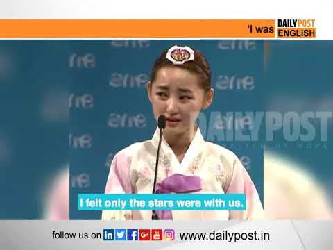 North Korean girl expresses her grief over life in North Korea
