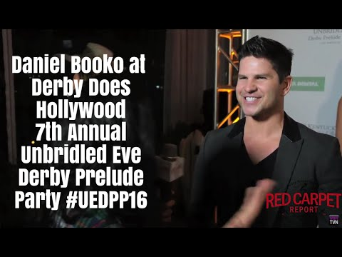Daniel Booko at the Derby Does Hollywood 7th Annual Unbridled Eve Derby Prelude Party UEDPP16