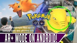 Wie man AR Plus auf Android! *ARBEITEN OKTOBER 2018* Android-AR+ - Modus Pannen Können nicht Fangen Pokemon!
