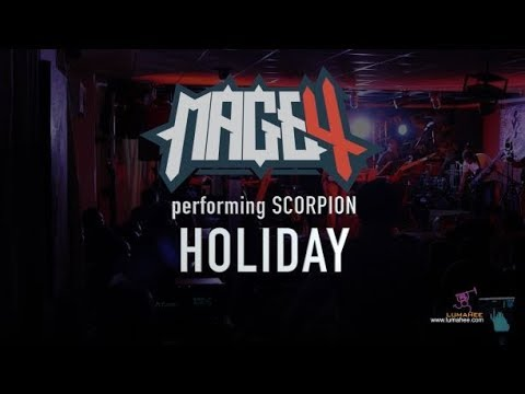 MAGE 4 - Scorpions Cover -  Holiday
