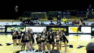 Leap Frog and pike blow out stunts WSC Cheer