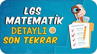 LGS Matematik Detaylı Son Tekrar 🔍