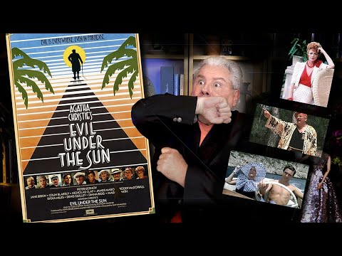 Download CLASSIC MOVIE REVIEW Agatha Christie's EVIL UNDER THE SUN -STEVE HAYES Tired Old Queen at the Movies