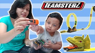 Unboxing Mainan Teamsterz Dino Clash Review