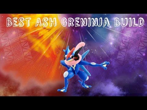 Best Ash Greninja Build (Pokemon Sun and Moon)