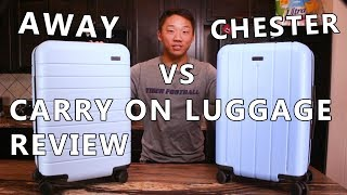[REVIEW] Away Carry-On Luggage Vs. Chester Carry-On