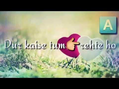 HUMKO YE BATAO DUR KAISE TUM REHTE HO KAISE JUDAI KA GUM YAARA TUM SEHTE HO;;;,,,,,,,,,LOVE FOREVER