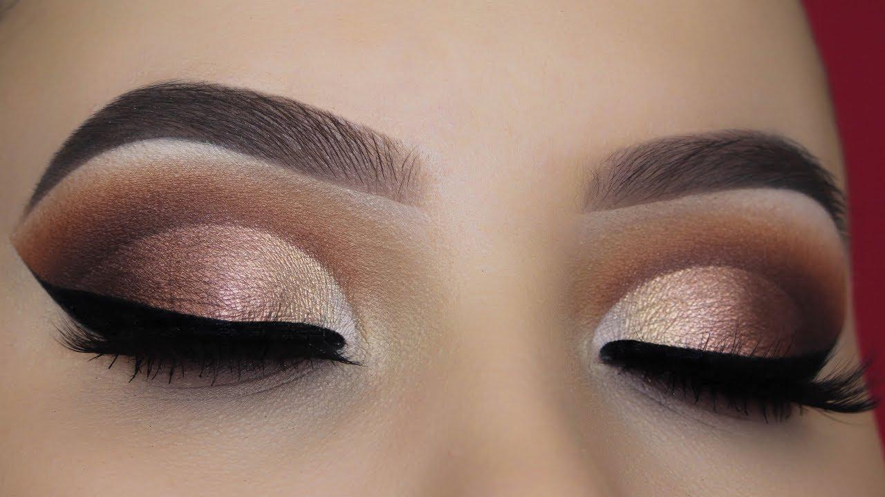 Abh Soft Glam Palette Cut Crease Tutorial Youtube