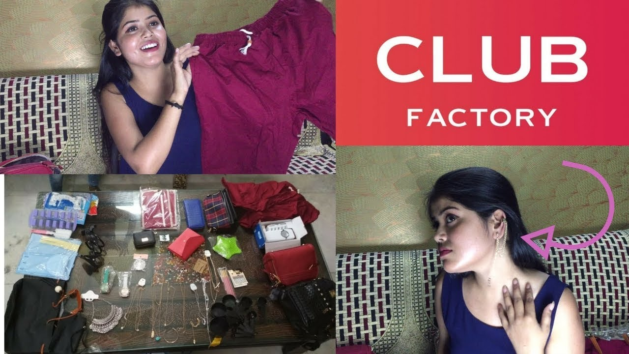 club factory haul club factory review online shopping app reviews in hindi youtube. Black Bedroom Furniture Sets. Home Design Ideas