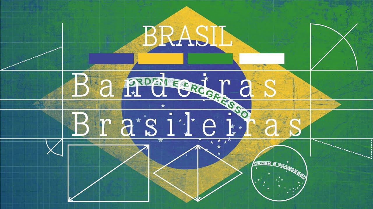 Evolução da bandeira brasileira
