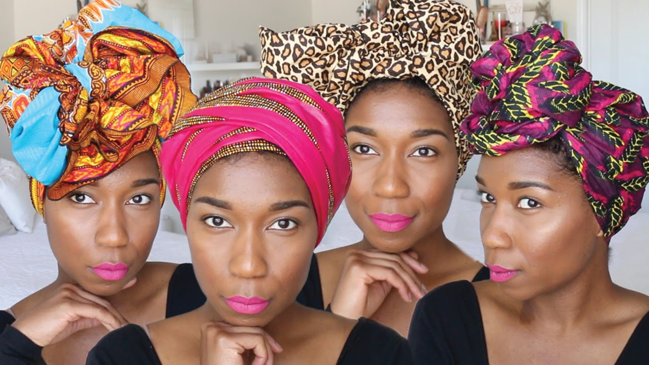 How beautiful to tie a headscarf