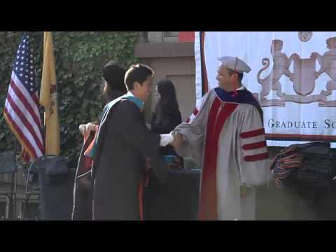 Princeton University Graduate School Hooding Ceremony 2014
