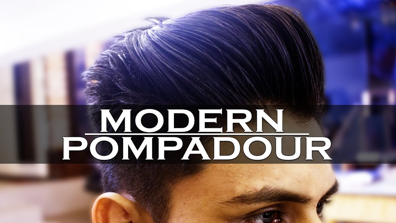 Menu0027s Modern Pompadour | How TO STYLE A Pompadour | Haircut + Hairstyle |  Mayank Bhattacharya   YouTube