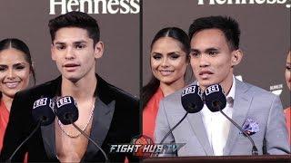 RYAN GARCIA VS. ROMERO DUNO - FINAL PRESS CONFERENCE HIGHLIGHTS & FINAL FACE OFF VIDEO