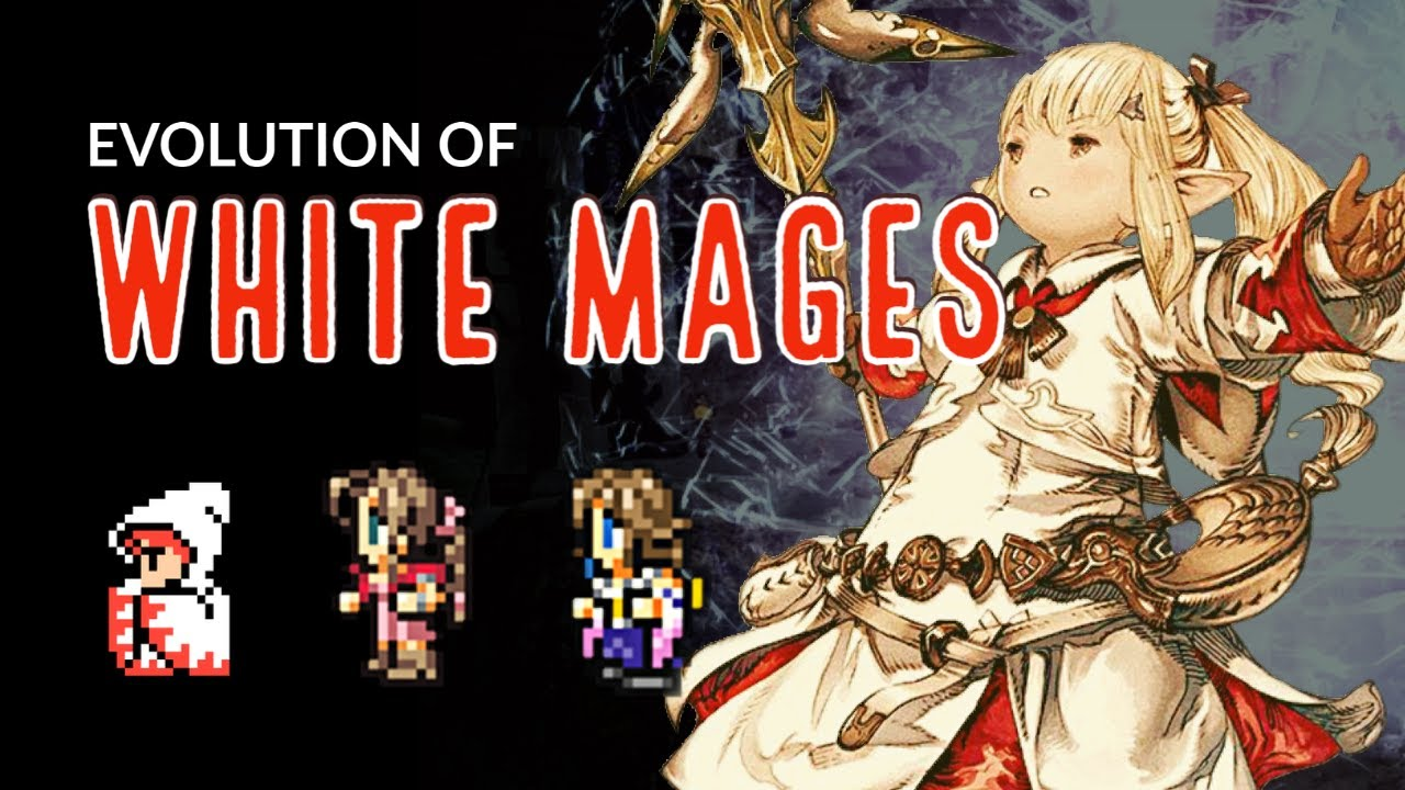 The Complete Evolution of White Mages