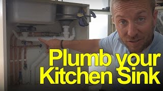 Plumbing Underneath Your Kitchen Sink - Plumbing Tips