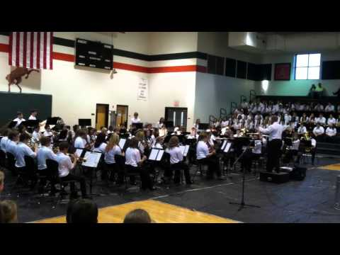 East Lincoln Middle School 7th grade band