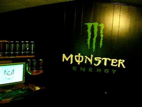 monster energy room  YouTube