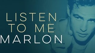 LISTEN TO ME MARLON, Marlon Brando Documentary with Dir. Stevan Riley