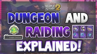 MapleStory 2 - Dungeon and Raids Explained