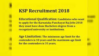 Karnataka State Police Recruitment 2018, KSP Constable Vacancies 2018