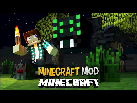 Minecraft Mod: Spiderzilla ( +40 Aranhas Gigantes) - Much More Spiders Mod