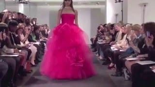видео розовое свадебное платье фото