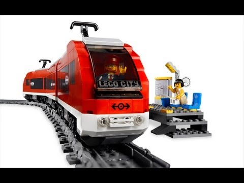 Lego City Passenger Train 7938 Lego city passe...