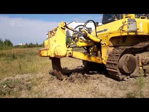 Бульдозер Komatsu D155A 5 – продается на HEAVY FAIR!  Видео диагностика бульдозера