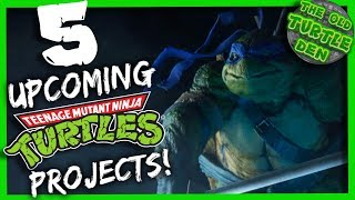 5 Upcoming TMNT Projects You NEED To Know About!