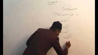 Arabi Grammar Lecture 08 Part 01  عربی  گرامر کلاسس