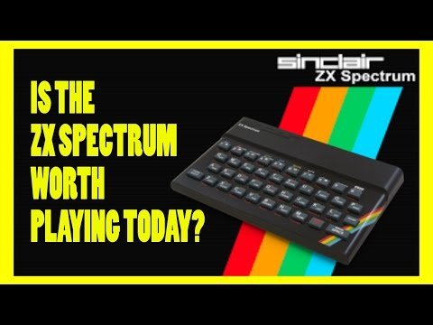 Is the Sinclair ZX Spectrum Worth Playing Today? - Review - Top Hat Gaming Man Ft Kim Justice