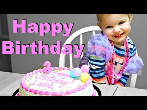 🎂Laura's 3 Year Old Birthday Special🎁