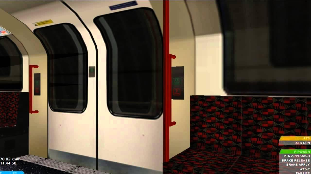 OpenBve Jubilee Line Southwark To London Bridge 1992 Stock