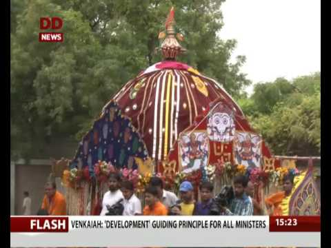 Lord Jagannath Rath Yatra held in Delhi