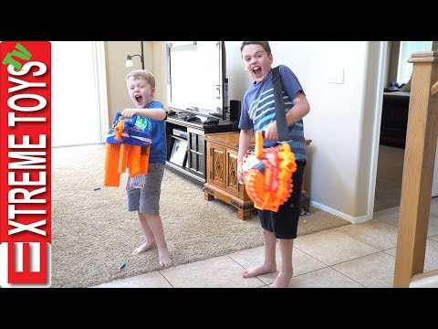 Cockroach Swarm Nerf Battle! Wild Toy Bugs Sneak in the House and Attack Ethan and Cole!