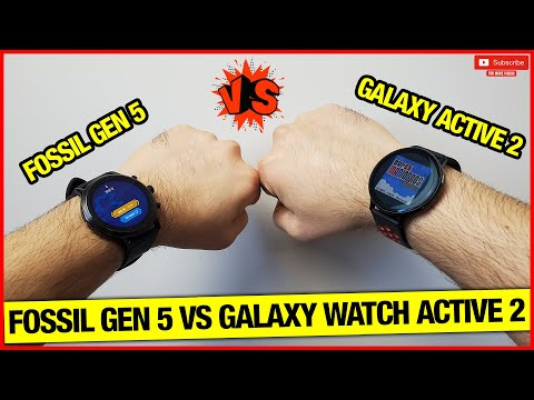 Fossil Gen 5 Vs Samsung Galaxy Watch Active 2