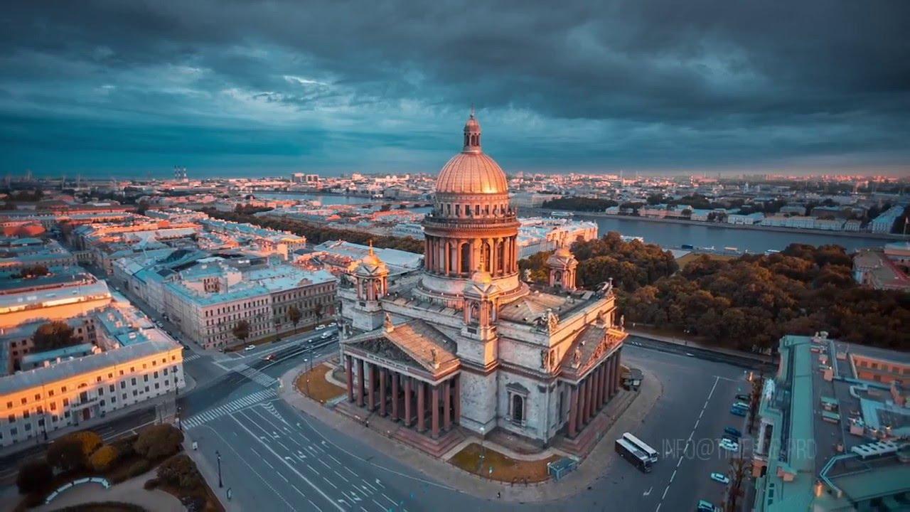 Потрясающе! Санкт-Петербург с высоты птичьего полета ...