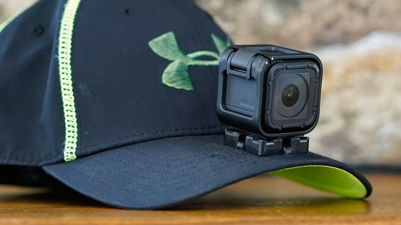 d2dd152b GoPro Baseball Cap - Hat Camera Mount - DIY How To Video - YouTube