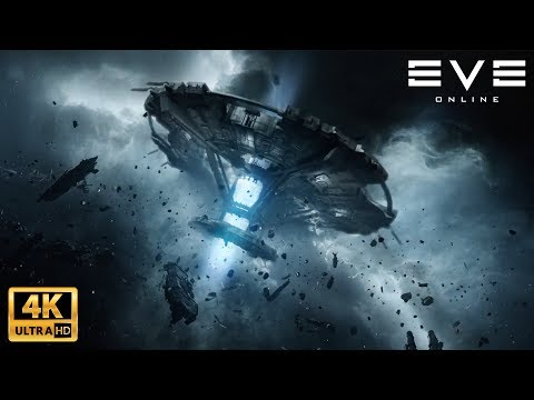 EVE Online Movie (4K) All Cinematics (Feb 2019)