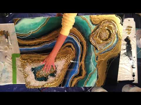 Geode Resin 3D Masterclass Preview
