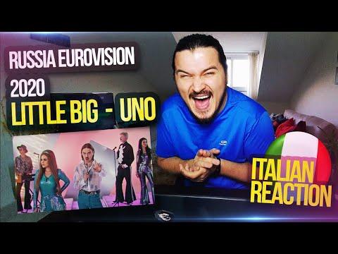 RUSSIA EUROVISION 2020 REACTION ITALIANA: Little Big - UNO  -HANNO SPACCATO DI BRUTTO