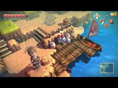Oceanhorn Monster Of Uncharted Seas Sky Island 100% Complete Walkthrough (PC/iOS) [HD]